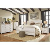 Emma Mason Signature Margarette 4-Piece Sleigh Bedroom Set