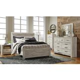 Bellaby 4pc Panel Bedroom Set in Whitewash