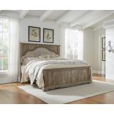 Shellington King Panel Bed in Caramel
