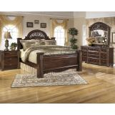 Emma Mason Signature Gracie 4-Piece Poster Bedroom Set