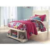 Blinton Twin Panel Storage Bed in White B523T