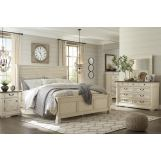 Bolanburg 4-Piece Louvered Panel Bedroom Set
