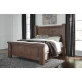 Tamilo King Poster Bed in Grayish Brown B714P-KING