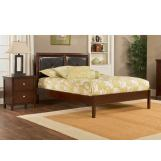 Hillsdale Metro Martin Queen Platform Bed in Warm Cherry