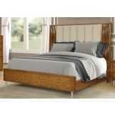 New Classic Furniture Bamboo Wave California King Bed in Natural