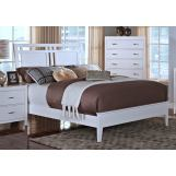 New Classic Selena California King Sleigh Bed in White