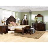 Emma Mason Signature Astro Park 4-Piece Panel Bedroom Set
