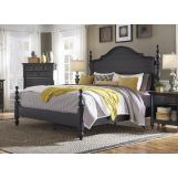 Aspenhome Retreat California King Poster Bed in Shade