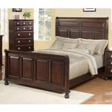 Meridian Brooke Queen Panel Bed in Espresso