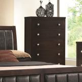 Coaster Carlton Chest in Cappuccino 202095