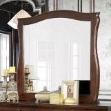 Furniture of America Brunswick Mirror in Brown Cherry CM7503M