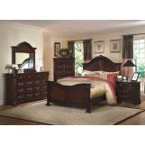 New Classic Emilie Bedroom Set in English Tudor