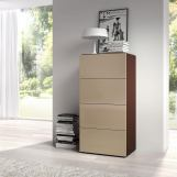 ESF Furniture Maya Chest of Drawers in Dark Wenge