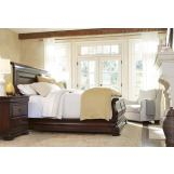 Universal Furniture Reprise 4pc Sleigh Bedroom Set in Cherry  CODE:UNIV20 for 20% Off