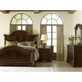A.R.T Gables 4pc Panel Bedroom Set in Cherry
