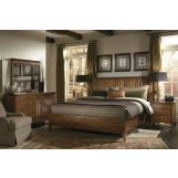 Kincaid Cherry Park Solid Wood Sleigh Storage Bedroom Set