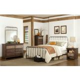 Standard Furniture Tristen Metal Bedroom Set
