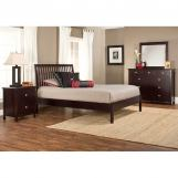 Hillsdale Metro Liza Platform Bedroom Set in Rich Espresso
