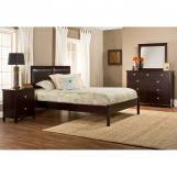 Hillsdale Metro Martin Platform Bedroom Set in Rich Espresso