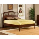 Hillsdale Metro Riva King Platform Bed in Warm Cherry