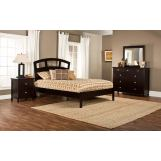 Hillsdale Metro Riva Platform Bedroom Set in Rich Espresso