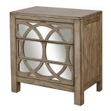 Aspenhome Tildon Mirrored Liv360 Nightstand in Mink I56-452 SPECIAL