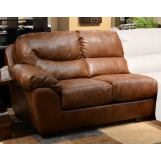 Jackson Lawson Left-Side-Facing Loveseat in Chestnut CODE:UNIV20 for 20% Off
