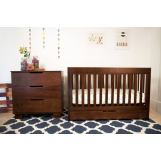 Babyletto Mercer/Modo 3-in-1 Convertible Crib Set in Espresso