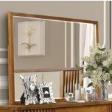 New Classic Furniture Bamboo Wave Mirror in Natural B720-060
