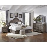 Pulaski Cordoba 4pc Panel Bedroom Set