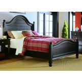 American Drew Camden Dark King Panel Bed