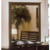 Alpine Furniture Portola Mirror in Dark Cherry PB-06DC