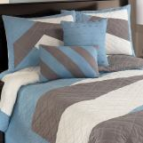 Slater - Multi Full Top of Bed Set