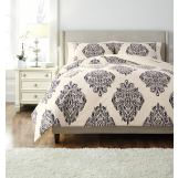 Medallion King Duvet Set in Blue Q491003K