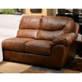 Jackson Lawson Right-Side-Facing Loveseat in Chestnut CODE:UNIV20 for 20% Off