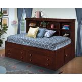 New Classic Versaille Youth Lounge Bedroom Set in Bordeaux Finish