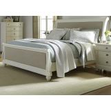 Liberty Furniture Harbor View II Queen Sleigh Bed in Linen 631-BR-QSL