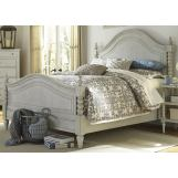 Liberty Furniture Harbor View III Queen Poster Bed in Dove Gray 731-BR-QPS