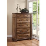 Legends Furniture Barclay 6 Drawer Chest in Rustic Acacia ZBCL-7016