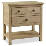 Legends Furniture Hideaway 2 Drawer Nightstand in Orchard Grey ZHID-7015
