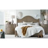 Legends Furniture Hideaway California King Panel Bed in Orchard Grey