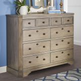 Legends Furniture Laurel Grove 8 Drawer Tall Dresser in Palmetto Dunes ZLGV-7113