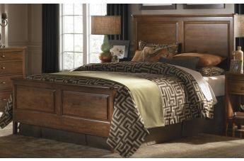 Kincaid Cherry Park Solid Wood Panel Bedroom Set CODE:UNIV20 for 20% Off