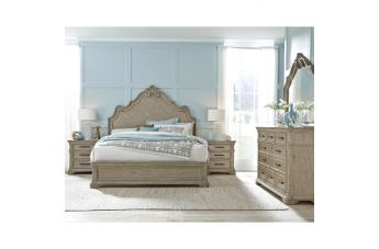 Pulaski Monterey 4pc Panel Bedroom Set