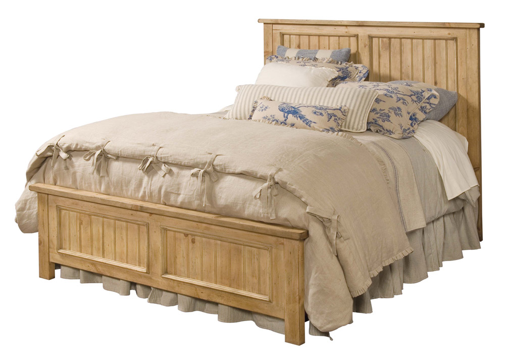 Kincaid Homecoming Solid Wood Queen Panel Bed In Vintage Pine 33 130p