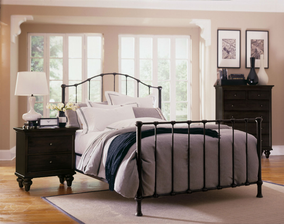 pin wrought iron bedroom furniture such as black wrought iron bed