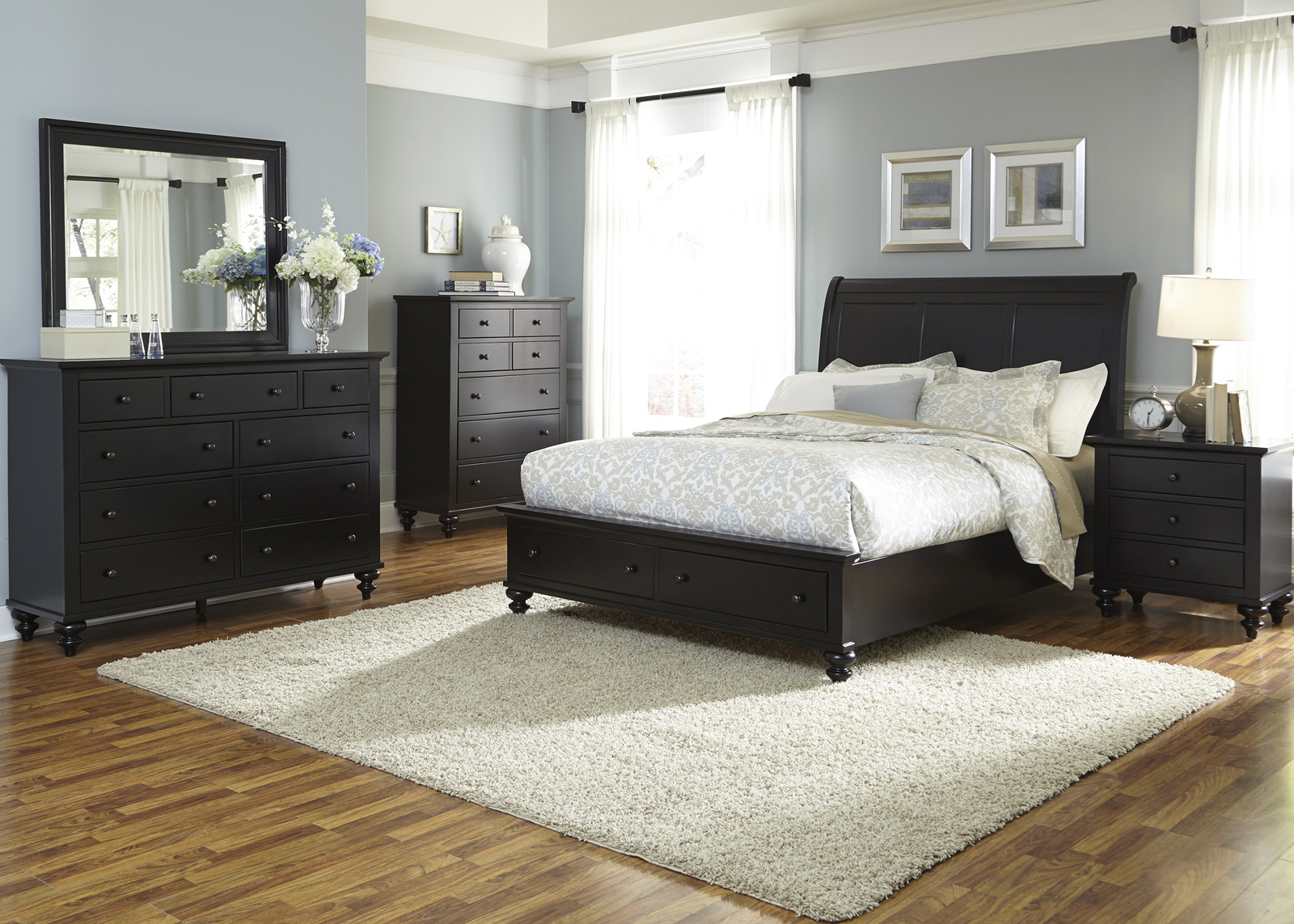hamilton bedroom set liberty furniture hamilton iii 4 storage bedroom set 11765