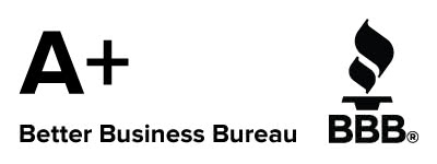 Rated A+ with Better Business Bureau