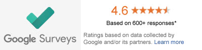 90% Rating with Google!